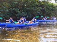 Divertimento in canoa