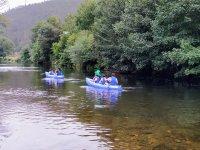 Percorso in canoa con bambini