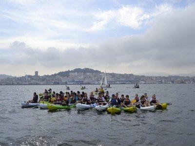 Moañas的个人皮划艇租赁服务,1小时