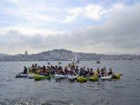 Alquiler de kayak individual, 1 hora, en Moañas