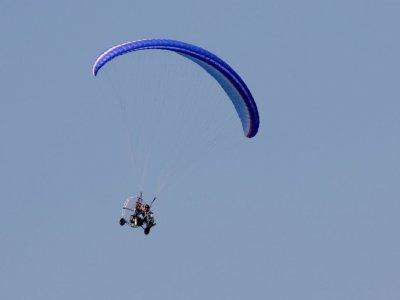 Fly on a paratrike near Badajoz 10 minutes