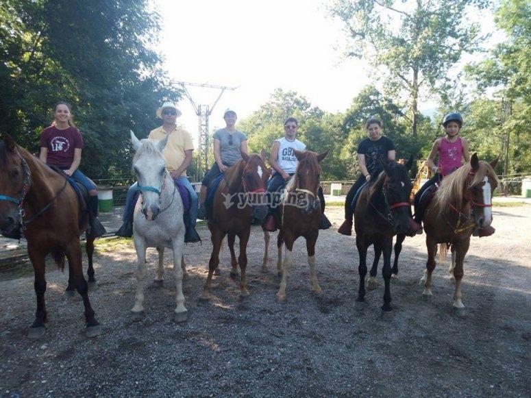 Passeggiate a cavallo nelle Asturie