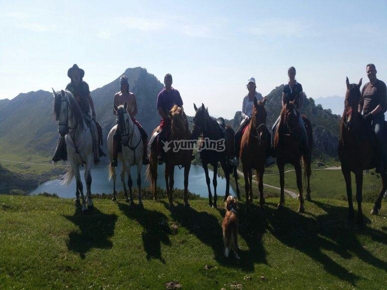 Visita dei laghi di Covadonga