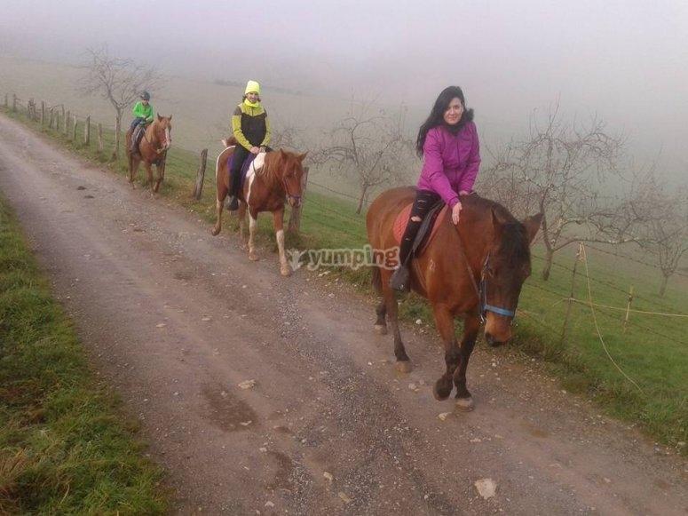 Percorso di un'ora nelle Asturie