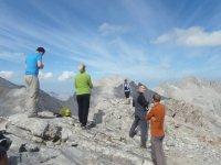 Subiendo a los picos de Asturias