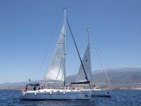 特内里费岛的帆船之旅