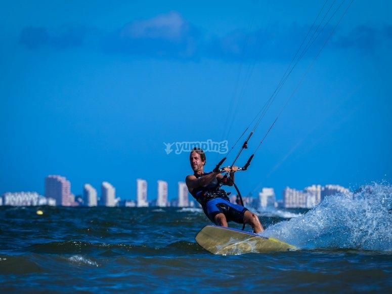 穆尔西亚风筝冲浪课程