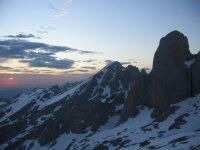 Atardecer de alta montaña