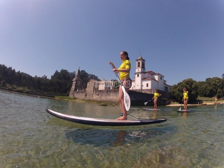 RíaNiembro划桨