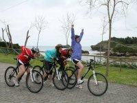 Arriva da Celorio a Llanes in bici
