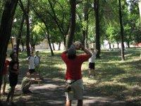 户外野营气球游戏