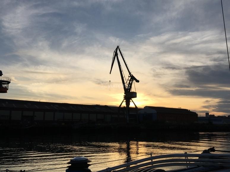 从河中发现工业毕尔巴鄂