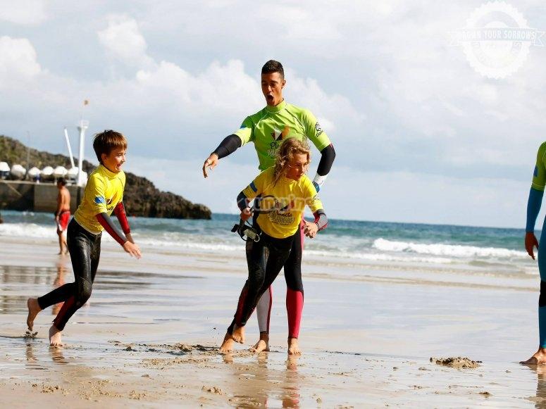 Corsi di surf a Celorio