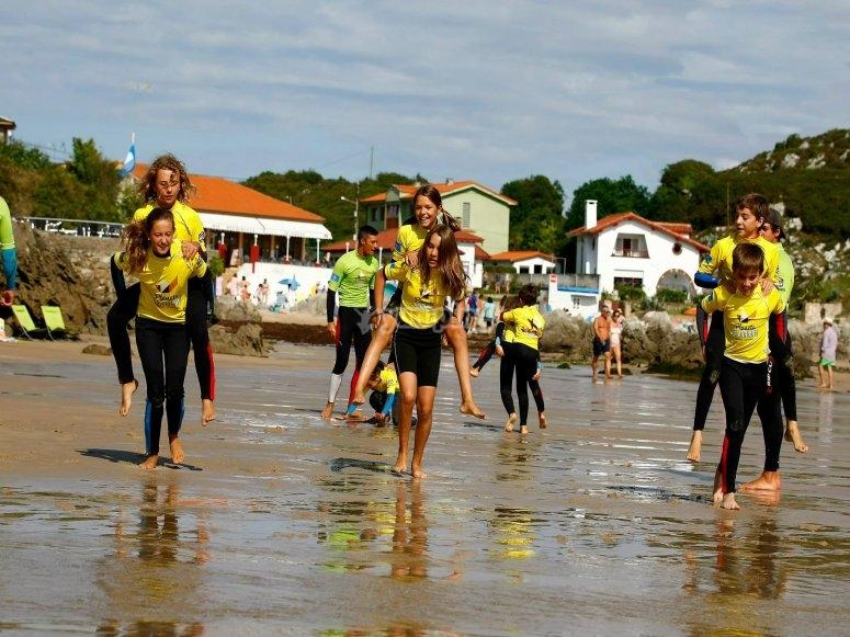 Corsi di surf llanes asturias