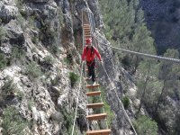 Canyoning + Beginner's Via Ferrata in Valencia