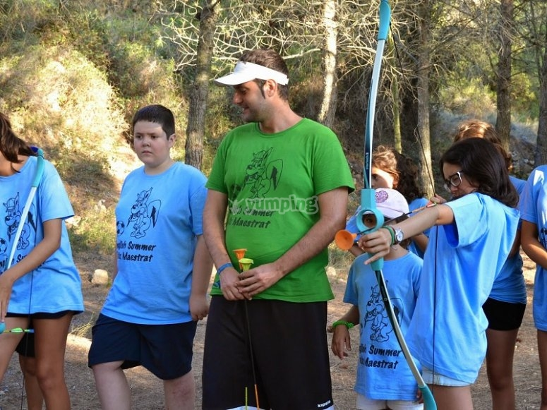Archery in the camp of Castellon