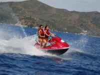 Jet ski excursion along the Costa Brava