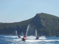 Jet ski on the Costa Brava