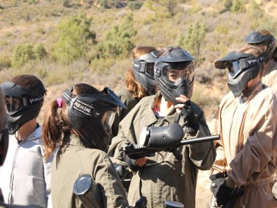 Kid's Paintball 50 Balls, Alcarria, Conquense