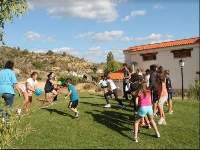 Paintball infantil con gymkhana y comida en Cuenca