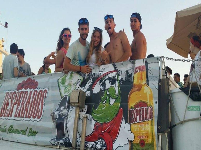 Party Boat en Valencia
