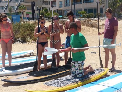 Canary Surf Academy Paddle Surf