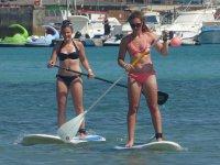 Paseo de paddle surf por parejas