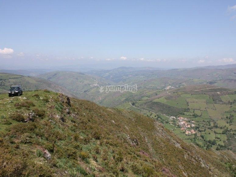 Verdes paisajes asturianos