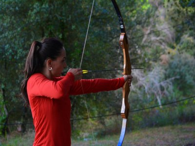Archery in Sant Miquel of Campmajor, 1 Hour