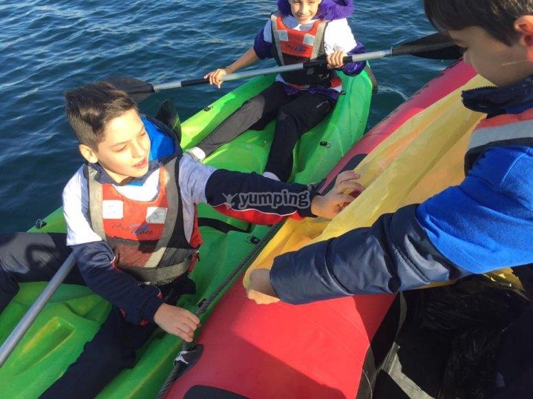 Kayak para lso peques