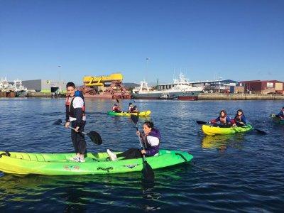 Noleggio kayak doppio, 1 ora, a Moaña