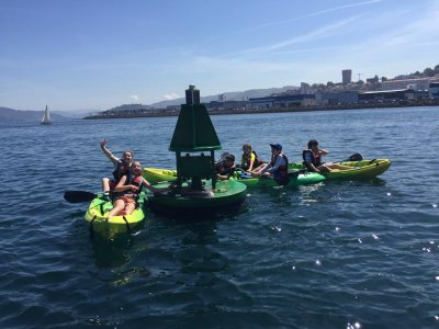 Moañas noleggio di kayak individuali di mezza giornata
