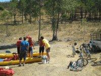 自行车和独木舟