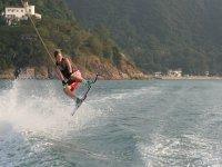 Salto en el wakeboard