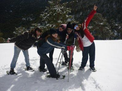 Escuela de Esquí Cota 2500 Raquetas de Nieve