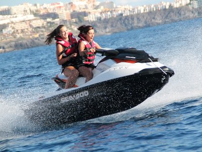 1h Jet Ski Route from Las Galletas to Palm Mar