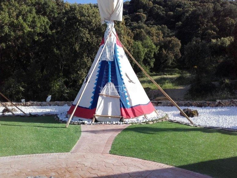 instalación cherokee camp