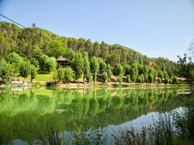 Lago Cazorla en familia