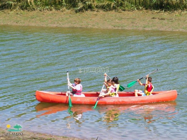Canoas niños