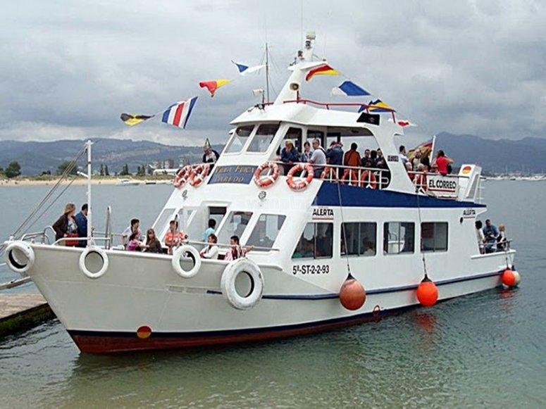 Barco Marismas Santoña