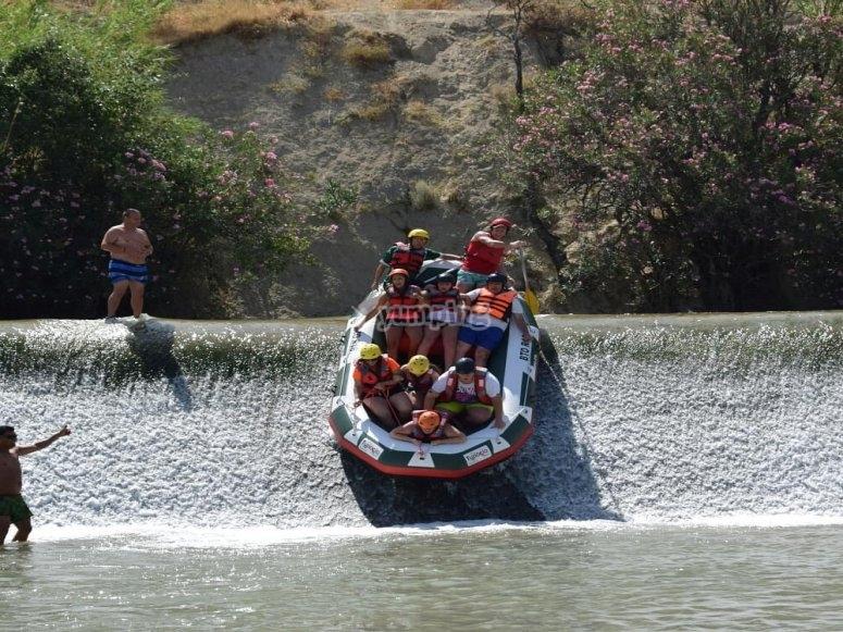 Face the Segura rapids