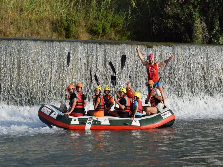Rafting session