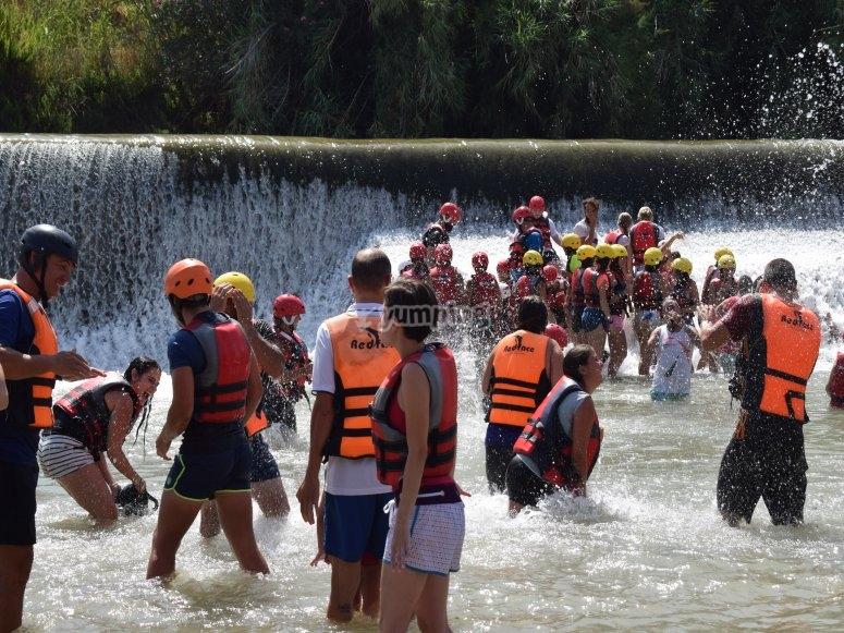Fun times in the water