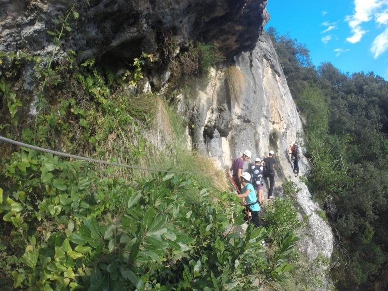 Haz una via ferrata en Cantabria