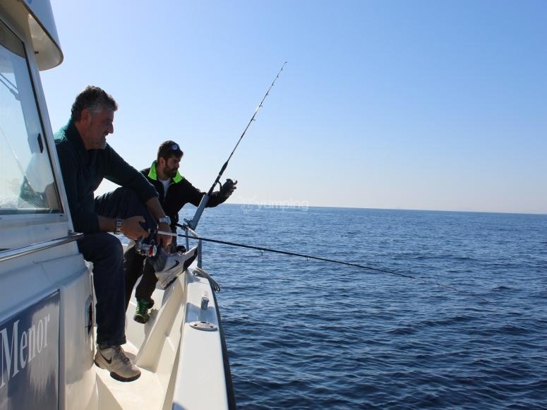 Jornada de pesca en Torrevieja