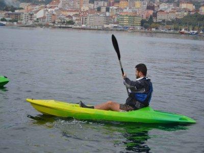 Alquiler de kayak individual en Moaña todo el día