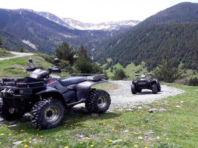 Quad Route On the Border of Andorra, 2.30 Hours