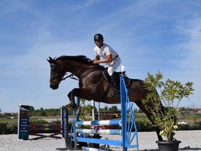 Clase de equitación en Segovia adultos 1 hora