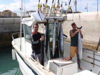 el bot�n de pesca