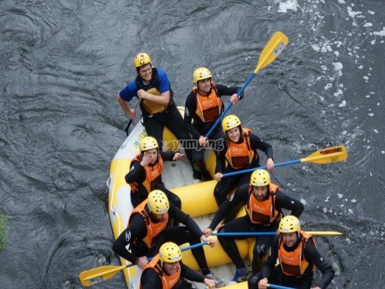 Rafting desde arriba